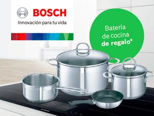Bosch regalo batería de cocina