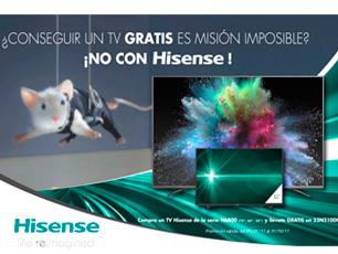 Hisense regalo TV