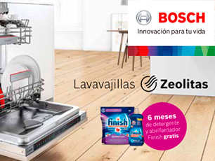 Bosch regalo detergente para tu lavavajillas