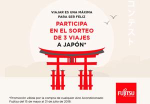 Fujitsu sorteo viaje Japón