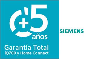 Siemens garantía 5 años