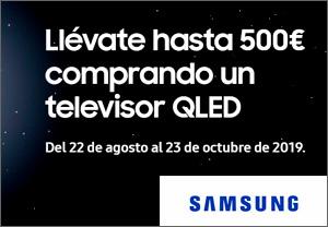 Samsung regalo hasta 500€
