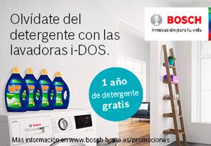 Bosch regalo detergente