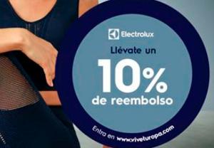 Electrolux reembolso 10% lavado